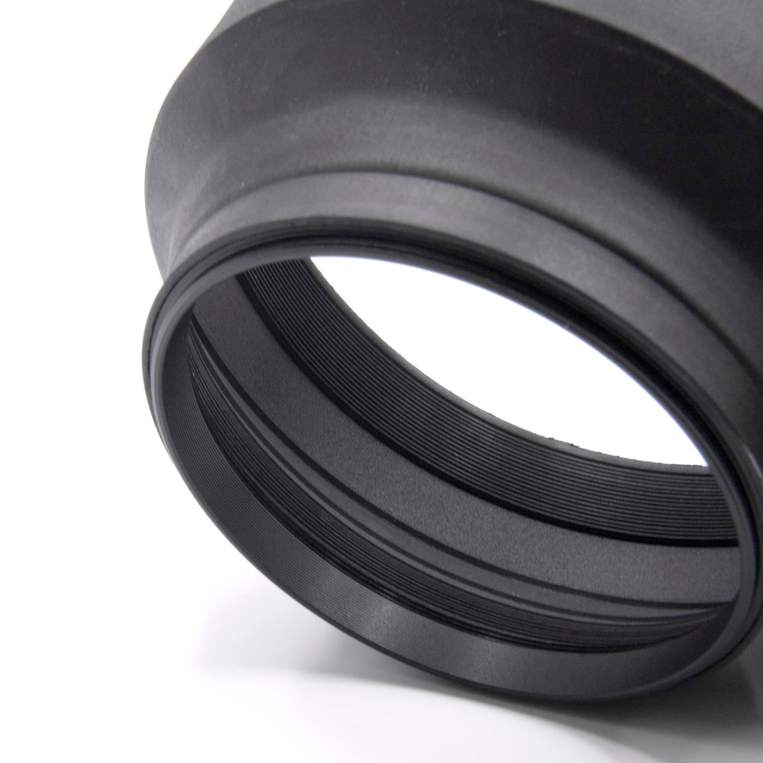 LENS HOOD RUBBER 77mm black for Pentax smc DA 12-24 mm 4.0 ED AL IF