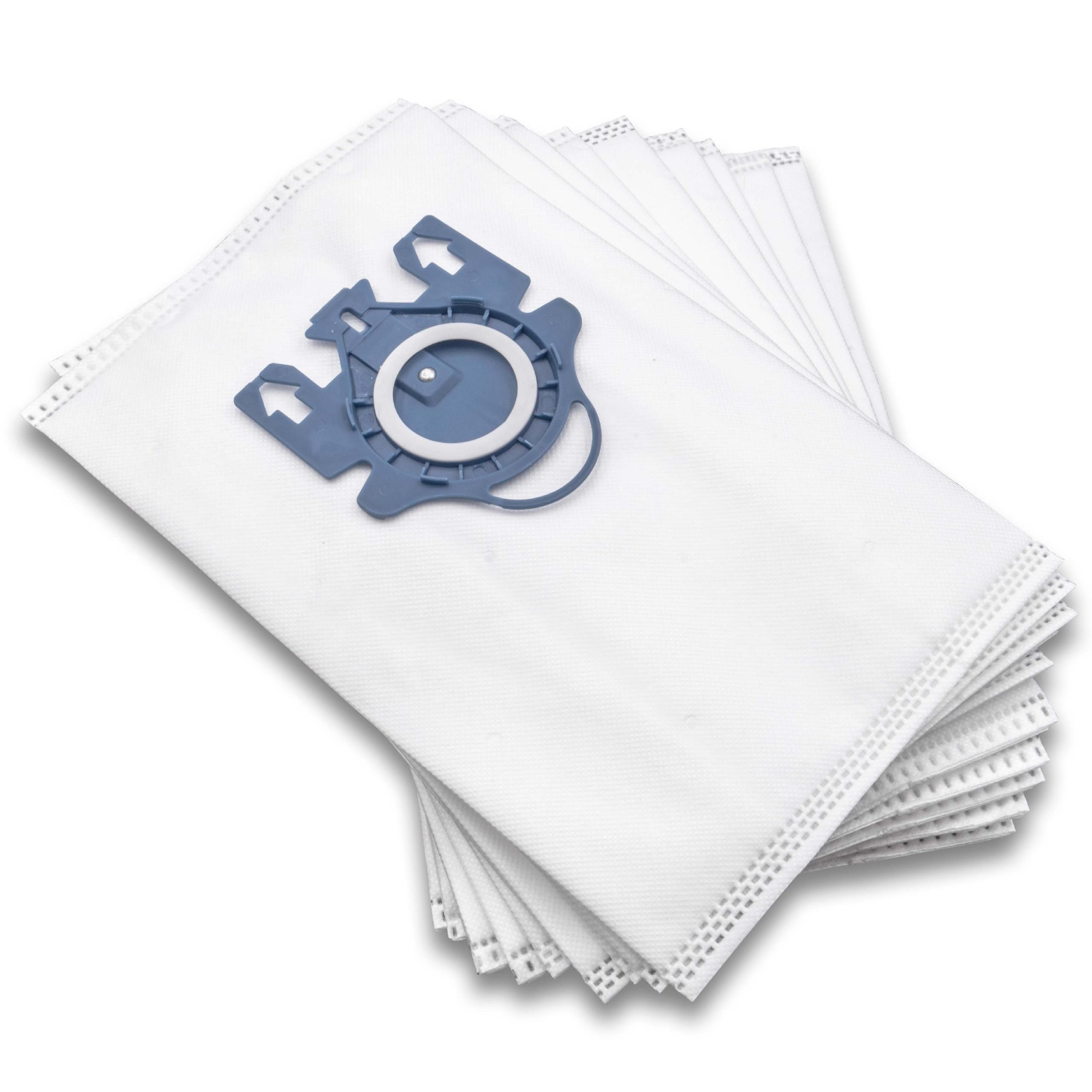 10 dust bags microfleece for vacuum cleaner replaces Miele Typ FJM