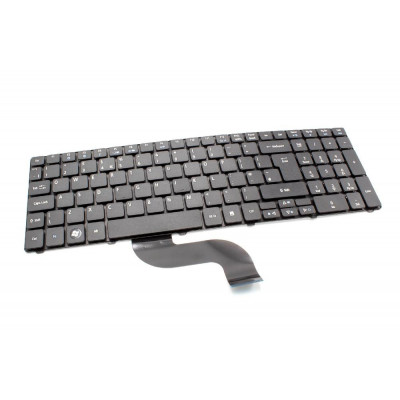 Keyboard - black with numeric keypad - for notebook replaces Acer 490267-B31, 491274-B31, 9J.N8682.R1D, NSK-H5R1D