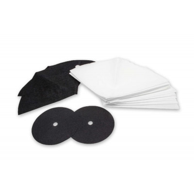vhbw     set of vacuum cleaner filters   , activated carbon filter, filter cone, motor filter