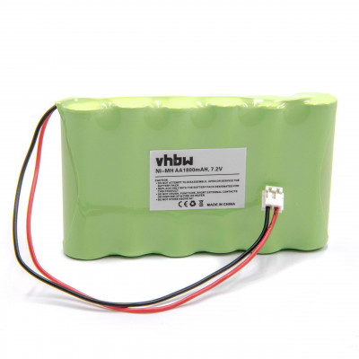 NiMH-battery - 1800mAh (7.2V) - medical equipment, such as  replacese Compex 032002690
