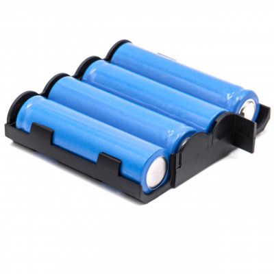 NiMH-battery - 1500mAh (4.8V) - medical equipment, such as muscle stimulator (EMS)  replacese Compex 4H-AA2000