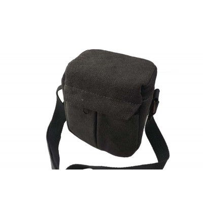 Camera case, bag - polyester, grey - 160 x 130 x 100mm for