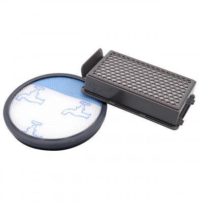 vhbw     set of vacuum cleaner filters  replaces Rowenta ZR005901 , 1x HEPA filter, 1 x pre-motor filter, plastic / microfleece / foam