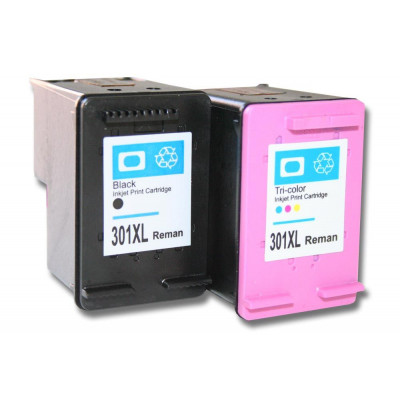 vhbw 2x ink cartridges - printer cartridges set