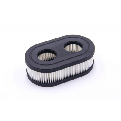 paper air filter replacement 11,1 x 6,7 x 3,4cm black, white for lawnmowers replaces Briggs & Stratton 798452