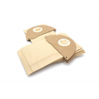 10 dust bags paper for vacuum cleaner replaces Kärcher 6.904-164, 6.904-167