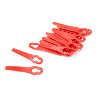 Replacement blade knife plastic red for awnmower lawn trimmer robot