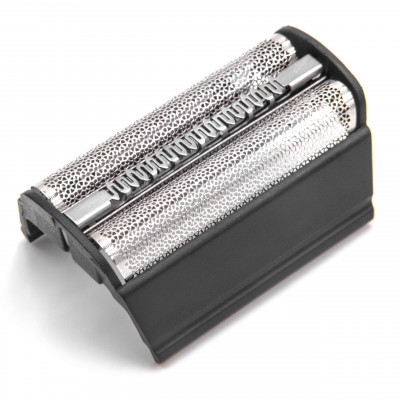 1x dual foil shaver with frame replaces brown 31B, SB505 for razors, shaver, trimmer - black
