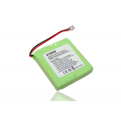NiMH-battery- 600mAh (2.4V) - suitable for wireless landline phone replaces 5M702BMX, GP0827, GP0845, GPHP70-R05