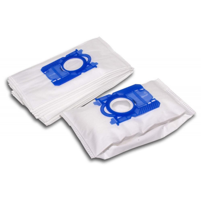 10 dust bags microfleece for vacuum cleaner replaces S-BAG