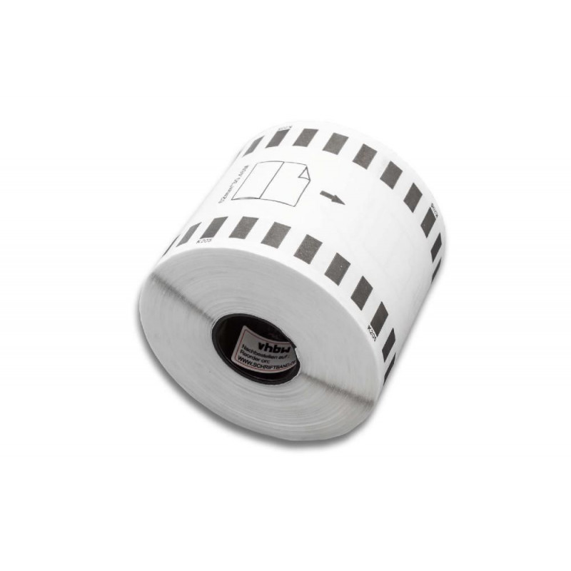 Self-Adhesive Label Roll 62mm x 30 48m replaces Brother DK-22205 for Label  Maker- continuous, premium