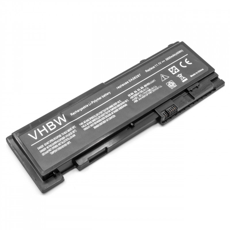 battery suitable for Lenovo ThinkPad T420s laptop (3600mAh, 11 1V,  Li-Polymer, black)