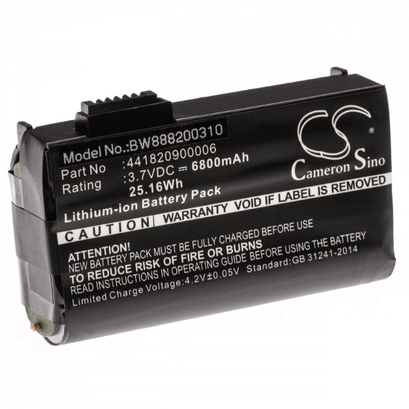 Replacement Battery For GETAC PS236