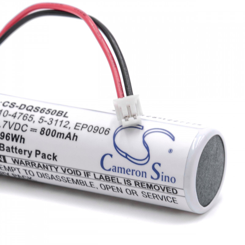 battery for barcode scanner POS replaces Datalogic 10-4765 800mAh (3 7V)  Li-Ion
