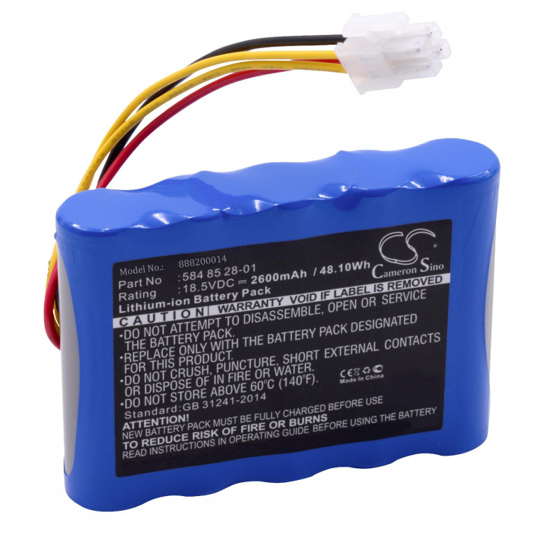 9a37d2b7f99 Li-Ion-battery - 2600mAh (18.5V) for robotic lawnmower replaces ...