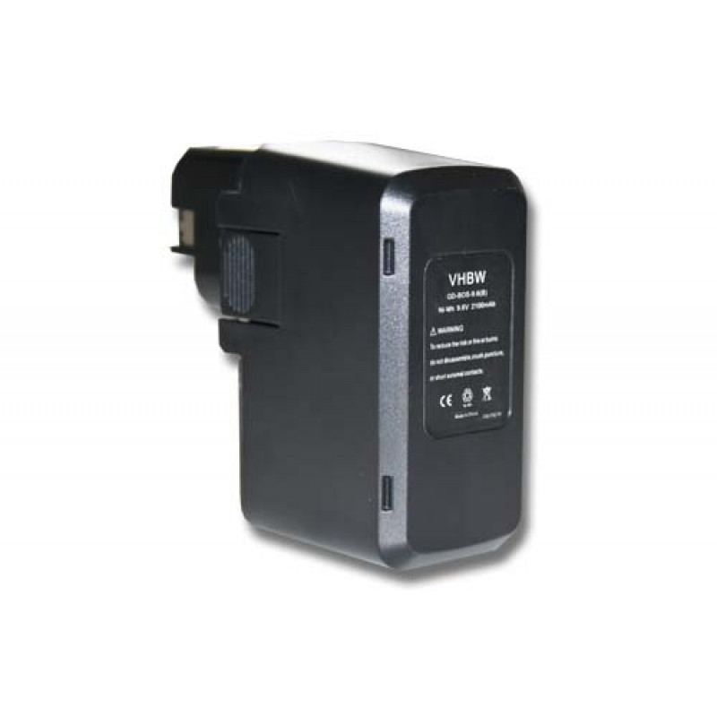 d1558c44a3ce3 NiMH-battery 2000mAh 9.6V - for electric power tools replaces Bosch ...
