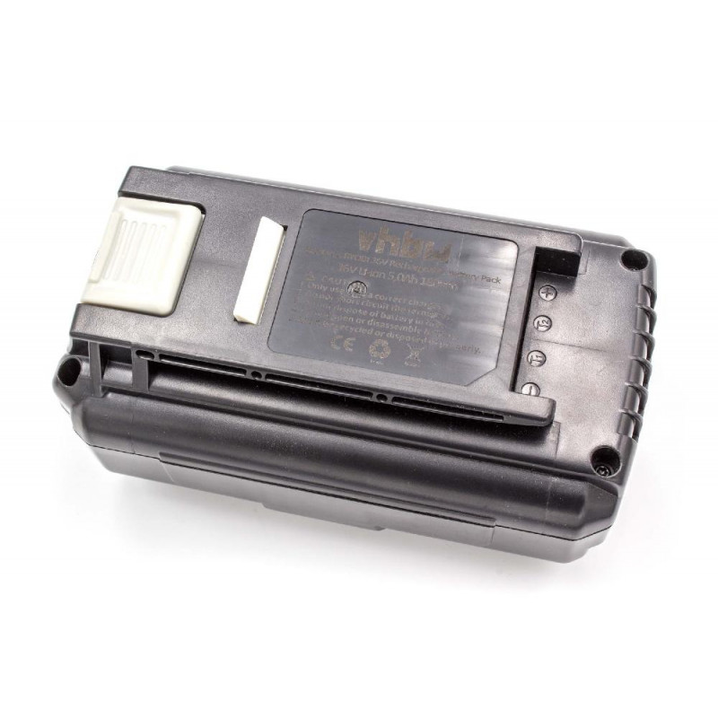 Li-Ion-battery 5000mAh 36V - for electric power tools Ryobi RLM36X40H50