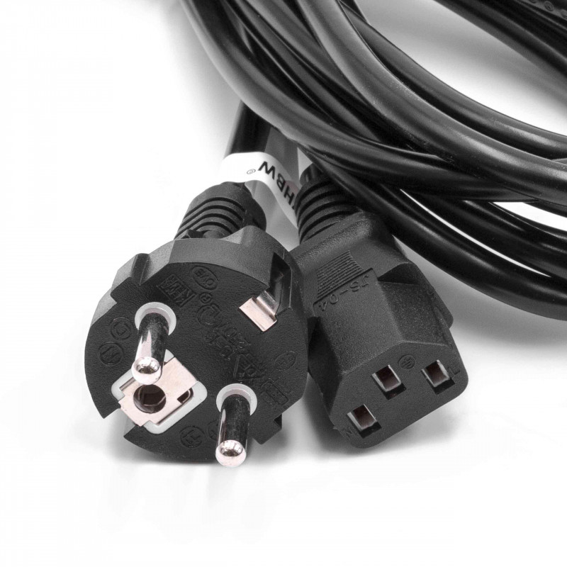 Astounding Kettle Lead Mains Cable Safety Ac Power Euro Plug C13 Iec Socket Wiring Cloud Strefoxcilixyz