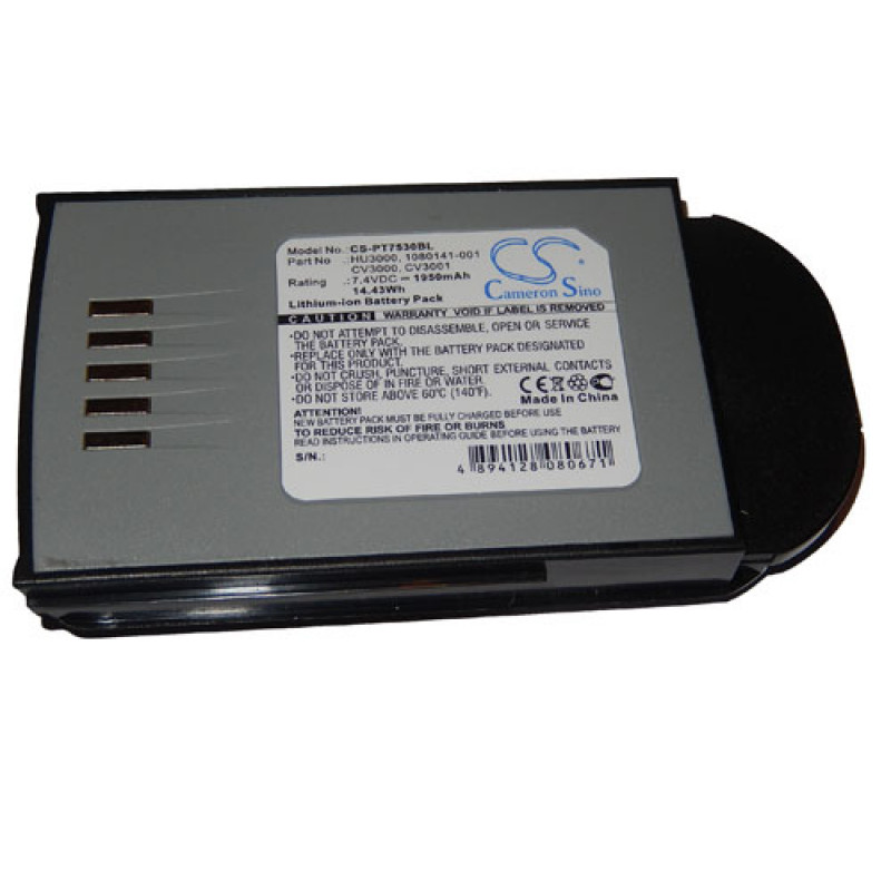 battery for barcode scanner POS replaces 1030070 1950mAh (7 4V) Li-Ion