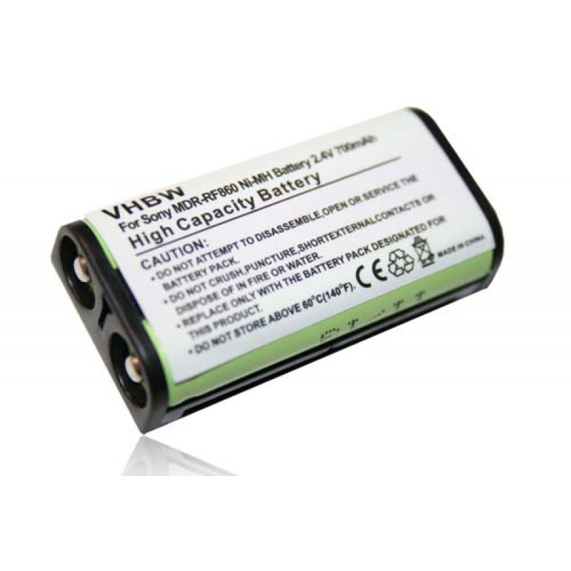 NiMH-battery - 700mAh (2.4V) - for wireless headset 260f0f42d5ac