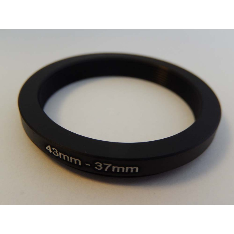 step down ring diameter to 43mm to 37mm for camera digital, reflex,  objectif Zeiss Planar T* 2/50 ZM