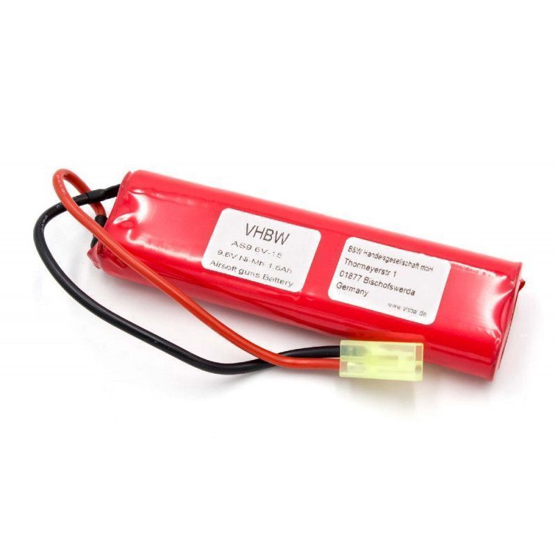 9,6v 1500mah//14 4wh N BATTERIA PER SOFTAIR-armi 9,6v-1500mah 4+4 celle in serie