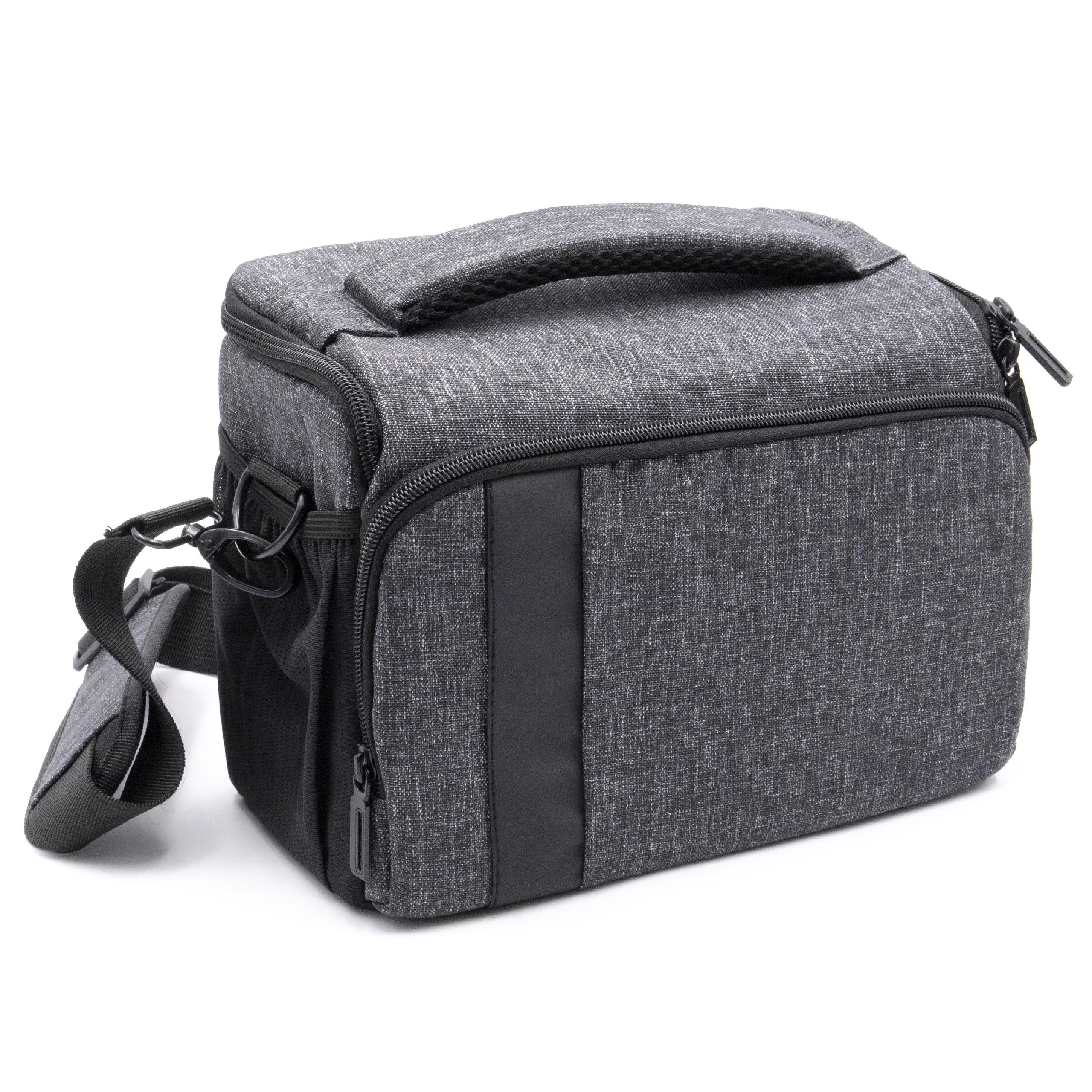 Protective Adjustable Black Carry Sleeve for Sony SLT-A58 /& CyberShot DSC-RX10