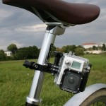 GoPro an der Sattelstange