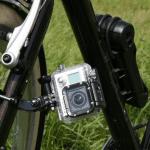 GoPro an der Gabel