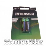 AAA micro Akkus