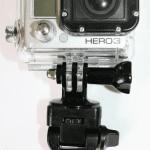 Teleskopstab mit Adapter und GoPro